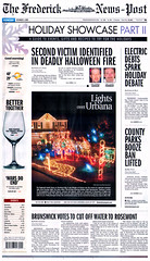 The Holiday Light Spectacular Front Page! (levelbest) Tags: christmas family light holiday spectacular display maryland led wireframe frederick c9 c7 yaglenski