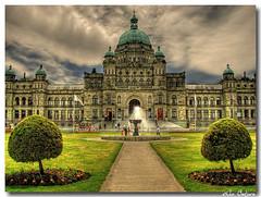 Legislative buildings in Victoria, BC, Canada…HDR
