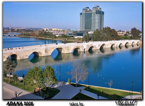Adana Turkey  city pictures gallery : Stone Bridge and Seyhan River in Adana, TURKEY a photo on Flickriver