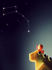 little dipper, south of somewhere (blistered.skies) Tags: stars toy little twinkle ducky minor ursa constellation dipper onehitwonder nonrubber irisfavoritetoy