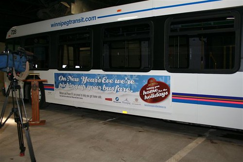 Winnipeg Transit Bus