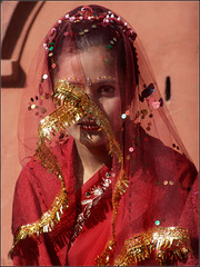 New Bride at the temple, Nepal (Sukanto Debnath) Tags: nepal red portrait woman girl face asian temple bride sony kathmandu hindu hinduism patan f828 nepali debnath sukanto sukantodebnath manjushree