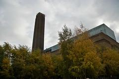 Tate Modern (FotoRolf) Tags: uk london exterior unitedkingdom tatemodern londen banksidepowerstation vk greaterlondon exterieur verenigdkoninkrijk