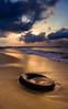 Glowing Merang beach (DSC8055) (Fadzly @ Shutterhack) Tags: sunset sea sky beach water clouds catchycolors seaside sand marine wave nikond50 malaysia nikkor terengganu mys oldtire kualaterengganu merang nikonstunninggallery setiu shutterhack