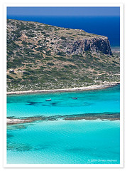 Balos Peninsula, Crete, Greece (Christos Andronis) Tags: travel light summer vacation water colors canon landscape 350d holidays greece crete  gettyimagesgreece1