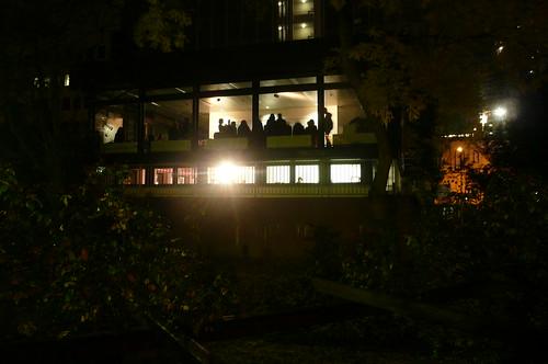 Saasfee Pavillon bei Nacht 2008