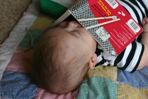 Jack Reads Himself to Sleep