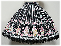 Angelic Pretty Rose Toilette Skirt (style) (patchxscream) Tags: skirt ap angelicpretty