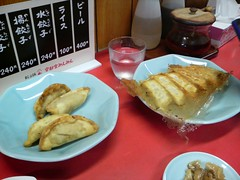 餃子みんみん 揚餃子 焼餃子