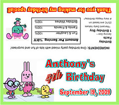 Wubbzy Party Favor Bag Topper (Kid's Birthday Parties) Tags: birthday party favor partyfavor wubbzy partyfavorbag wowwowwubbzy personalizedfavorbag wubbzybirthday wubbzyparty wowwowwubbzybirthday personalizedpartysupplies