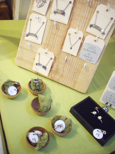 Laurel Hill's jewelry at Hand Craft It.