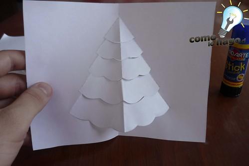 Como hacer una tarjeta Navideña