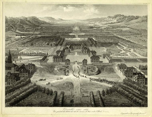 000-Versalles hacia 1664