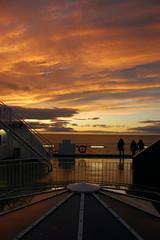 Sunrise (cosmo_71) Tags: camera ireland sea dublin irish sunrise out nikon ship ulysses irishsea d40 outofcamera