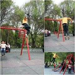 (Reza-ir) Tags: park baby game jump iran flight tehran