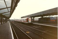 NIR0109 Unit 87 in York Road (Johannes J. Smit) Tags: trains northernireland railways nir