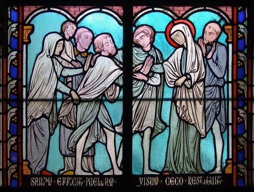 014- Vitral nº 14 claustro de Notre Dame de Paris