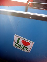(saladito) Tags: sanfrancisco sticker iloveyoursmile