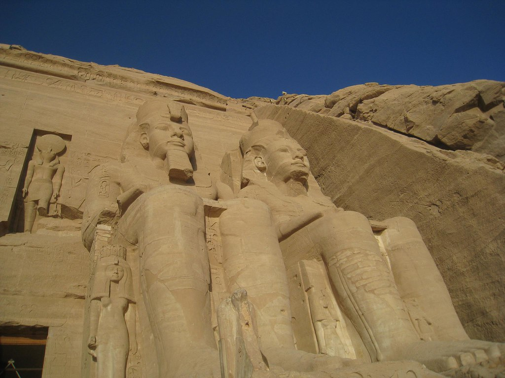 photo essay pyramids temples of abu simbel