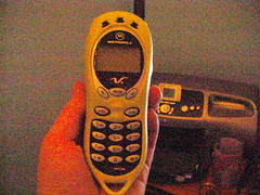 my cell phone in 2002