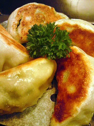 Panfried dumplings