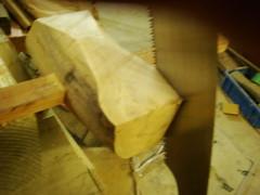 hammer making[みかんの槌作成]-11