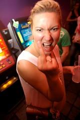 Pussy Club (helppo) Tags: party girl finland helsinki finger birthdayparty nightclub blond dtm pussyclub orkidea22052009