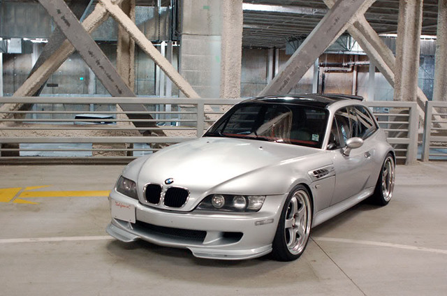 2000 M Coupe | Titanium Silver | Imola/Black | SSR Professor SP1 Wheels