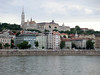 Budapest, vista dal ponte delle catene