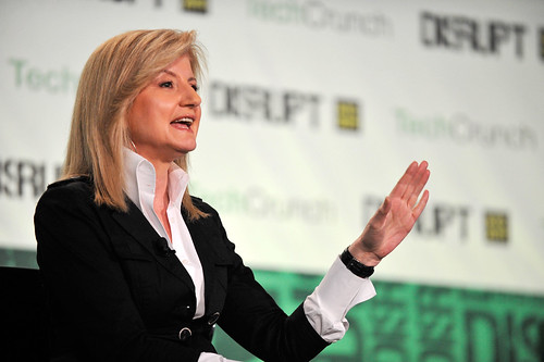 TechCrunch Disrupt: Arianna Huffington Loves MapQuest