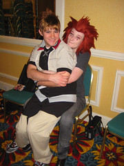 The Happy Couple (stormymoorecosplay) Tags: park chris john hearts ada costume cosplay zombie alice south bleach evil kingdom stormy s moore leon axel wong wonderland naruto vivi organization kennedy chapman roxas pence resident redfield xiii 2011 ouran vipperman stormymoorecosplay roundcon