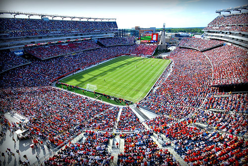 U.S. Falls 4-0 To Spain In Front Of Record Crowd At Gillette Stadium In Foxborough