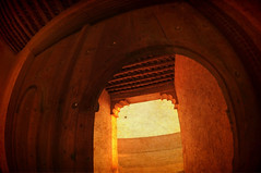 ~ (CornrSton) Tags: fish eye castle nikon gate fisheye d3 cornerstone qatar olddoor oldgate                althaqp