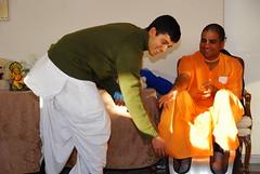 Kishan and Guruday (sureshnarsimhan) Tags: krishna nataraja applevalley newtemple gauranga