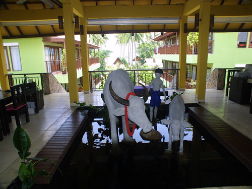 サムイ島-Baan Haad Ngam Boutique Resort-Reception0001