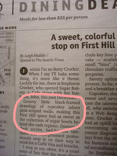 Cakespy In the Seattle Times!
