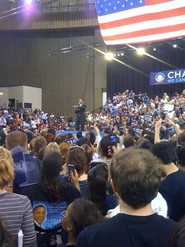 Barack Obama, Fort Worth Convention Center, Fort Worth, TX