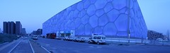 watercube - national aquatics center (helen sotiriadis) Tags: china architecture published beijing watercube nationalaquaticscenter toomanytribbles