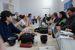 Photo of Boston Media Makers Meeting