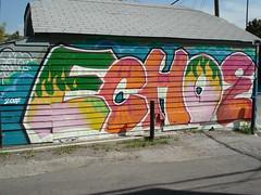 Echoe LosAngeles Graffiti Art