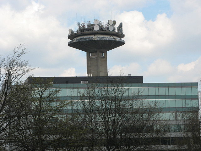 VRT - RTBF Television tower