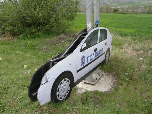 Bulgarian traffic police