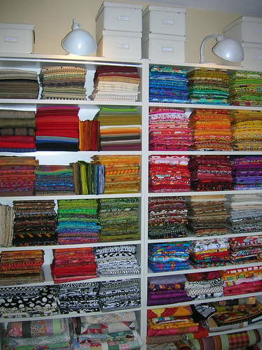 kathy's fabric stash