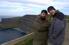 Dawwid & Rezky at the Cliffs of Moher (cosmic[SGA]) Tags: ireland nikon irishcountryside d40 ruralireland martinakrizikova irishwestcoast