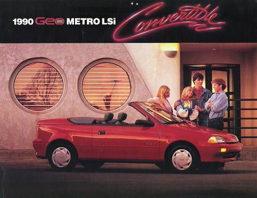1990 Geo Metro LSi Convertible Dealer Brochure Supplement, Side 1 | Flickr