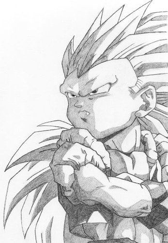 Super Saiyan Three. Super Saiyan 3 Gotenks