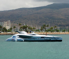 Earthrace in Hawaii