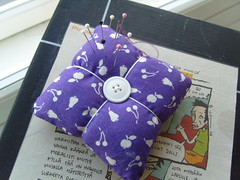 Purple Square PinCushion