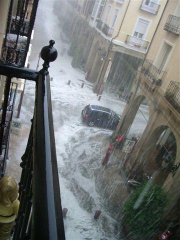 granizo Logroño