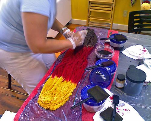Dyeing Class- Adrienne's Skein